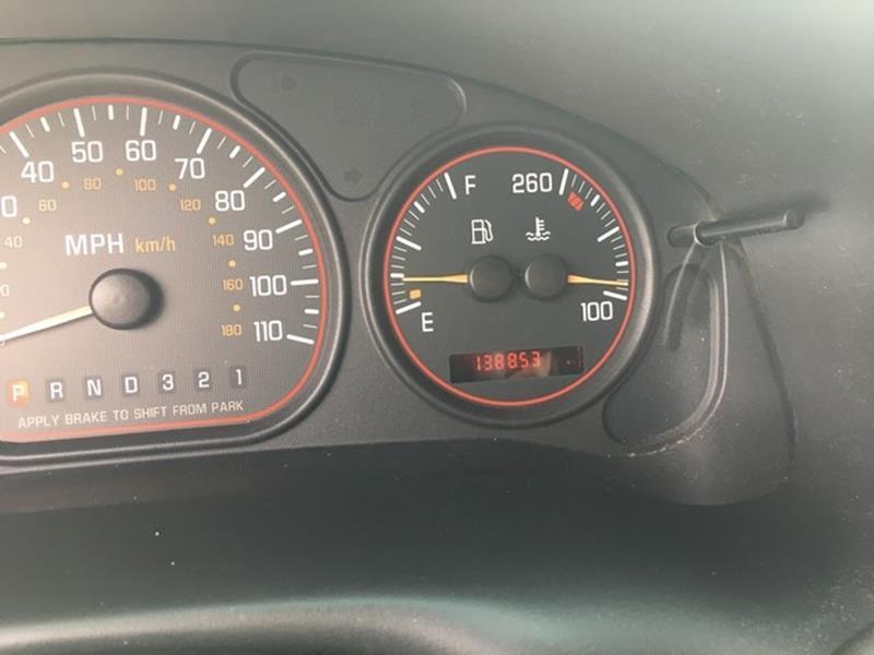 2003 Pontiac Montana Detroit Used Car for Sale