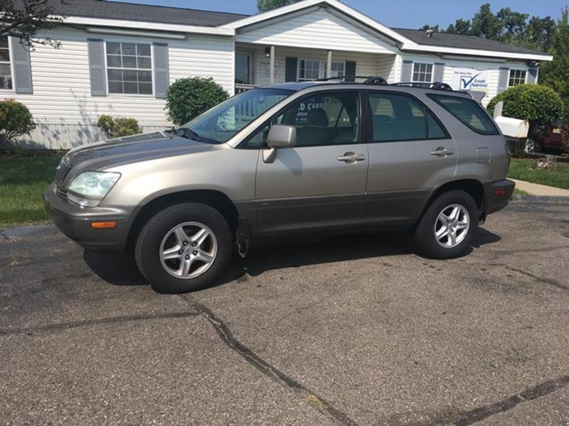 2001 Lexus Rx 300 car for sale in Detroit