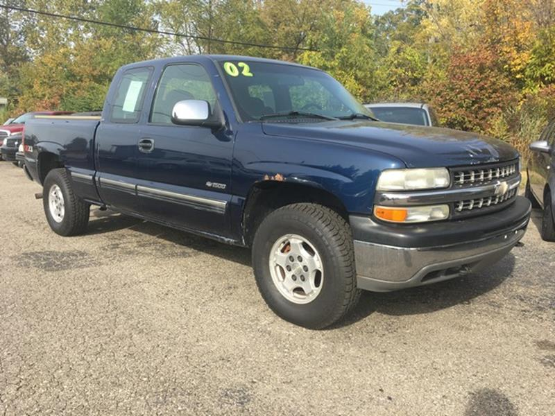 2002 Chevrolet Silverado 1500 car for sale in Detroit