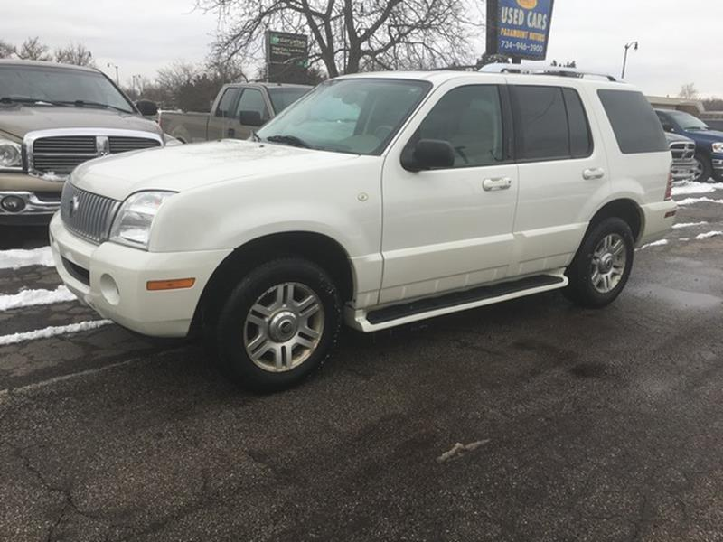2004 Mercury Mountaineer car for sale in Detroit