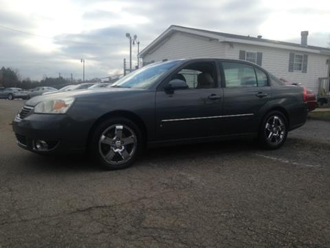 2007 Chevrolet Malibu for sale at Paramount Motors in Taylor MI