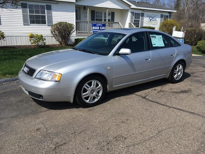 2001 AUDI A6 27T QUATTRO AWD 4DR SEDAN silver manual trans moon roof leather loaded air cond