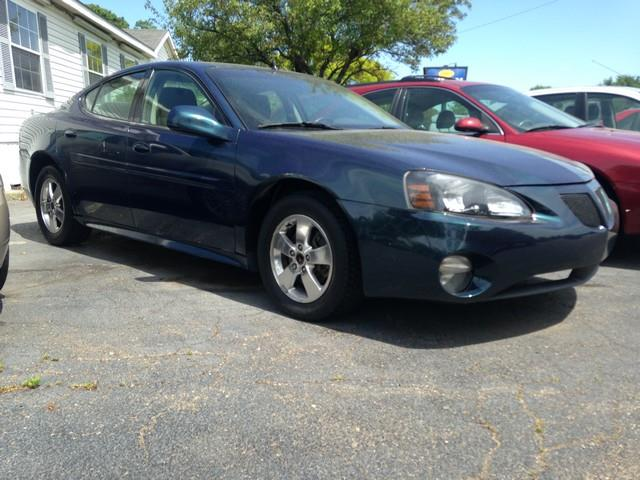 2005 PONTIAC GRAND PRIX BASE 4DR SEDAN blue fwd v6 all power call now for fast credit approval