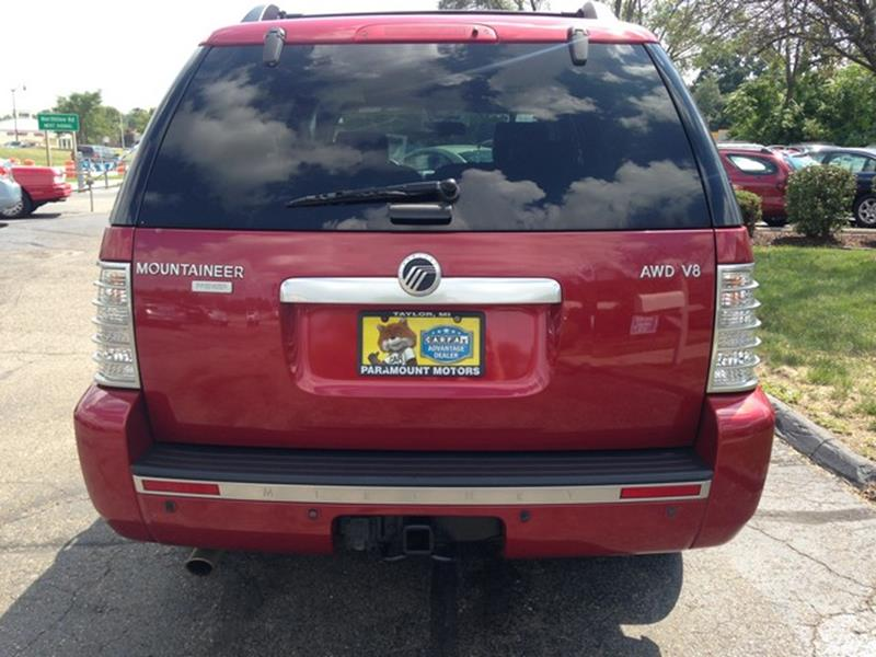 2007 Mercury Mountaineer for sale at Paramount Motors in Taylor MI