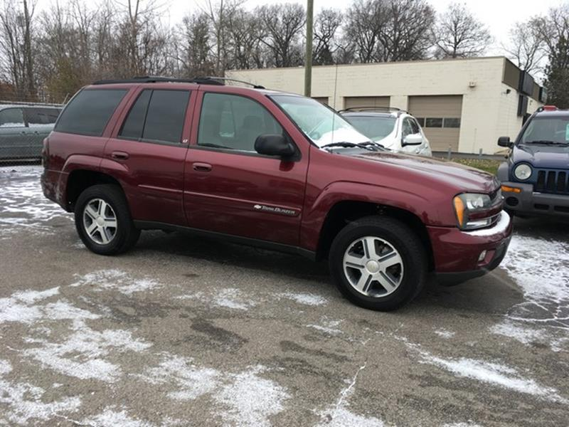 2004 CHEVROLET TRAILBLAZER LT 4DR SUV burgandy lt rwd power options cd cloth interior call n