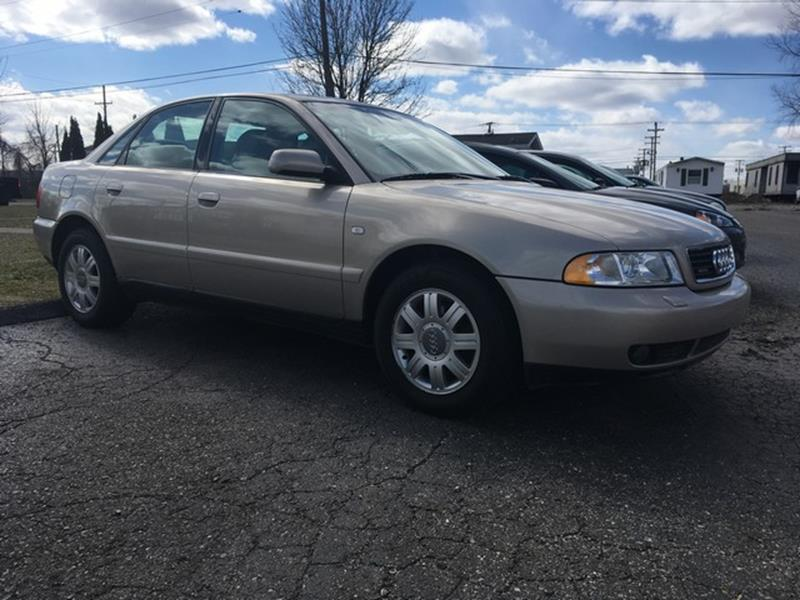 2001 AUDI A4 18T QUATTRO AWD 4DR SEDAN gold leather moon roof all power awd loaded air condi