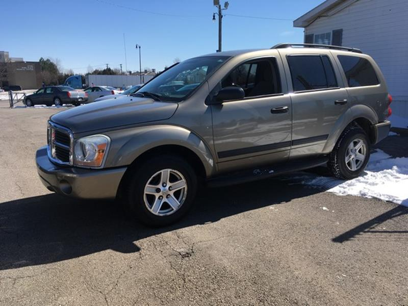 2006 DODGE DURANGO SLT 4DR SUV 4WD gold woodgrain trim all power 4x4 slt call now for fast cr