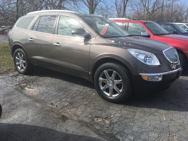 2008 BUICK ENCLAVE CXL 4DR SUV brown fully loaded dual moon roofs rear dvd leather captains c