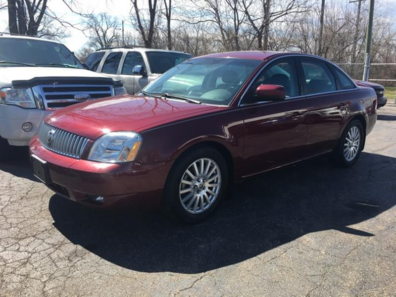 2007 MERCURY MONTEGO PREMIER 4DR SEDAN burgandy leather low miles v6 fwd loaded call now for