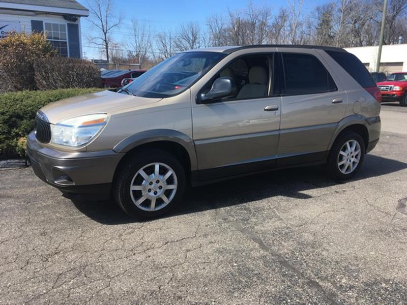 2005 BUICK RENDEZVOUS CX AWD 4DR SUV gold cloth interior v6 awd all power clean condition ca