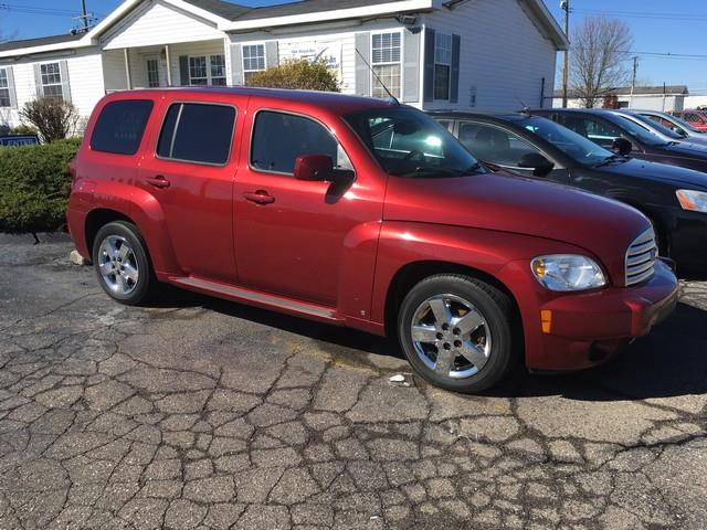 2008 CHEVROLET HHR LT 4DR WAGON W1LT red all power automatic fwd clean car call now for fast