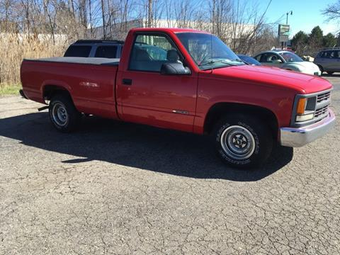 1996 Chevrolet C/K 1500 Series for sale at Paramount Motors in Taylor MI