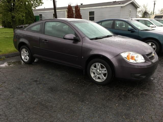 2006 CHEVROLET COBALT LT 2DR COUPE W FRONT AND REAR H plum automatic all power low miles 4 cy