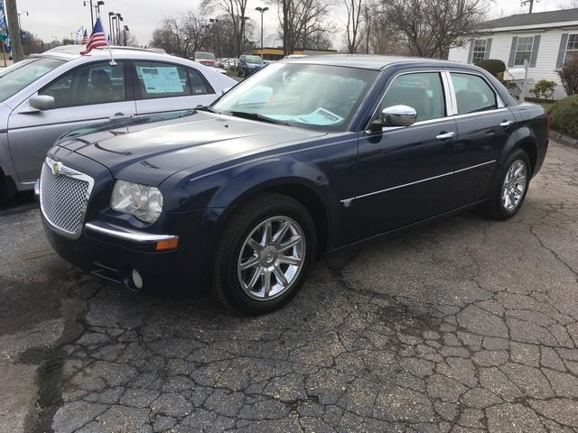 2005 CHRYSLER 300 C 4DR SEDAN blue leather interior moon roof all power options call now for f
