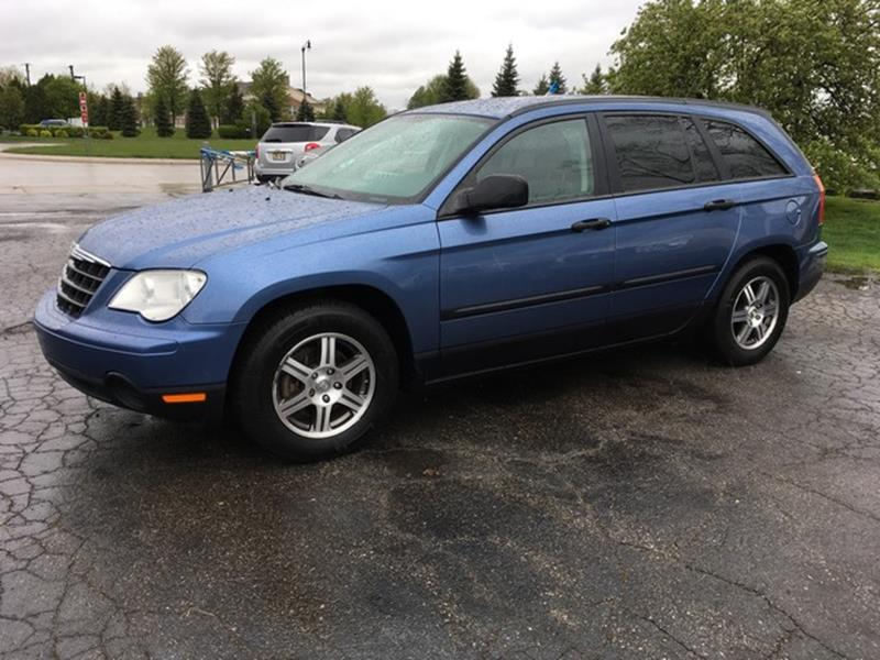 2007 CHRYSLER PACIFICA BASE 4DR WAGON blue cloth interior all power fwd v6 call now for fast