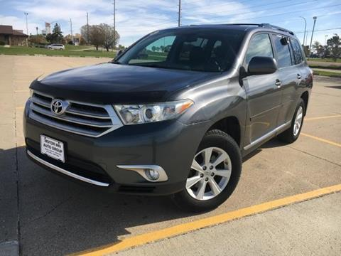 2012 Toyota Highlander for sale in Le Mars, IA