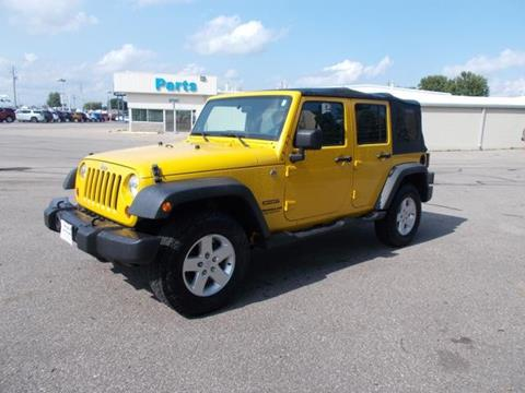 2011 Jeep Wrangler Unlimited for sale in Knoxville, IA