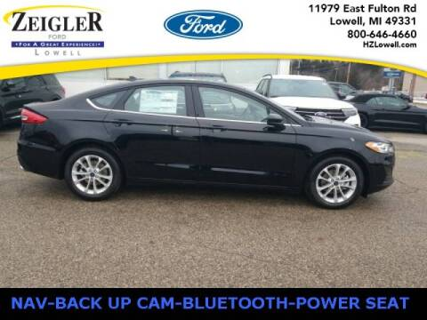 2020 Ford Fusion for sale at Zeigler Ford of Plainwell- michael davis in Plainwell MI