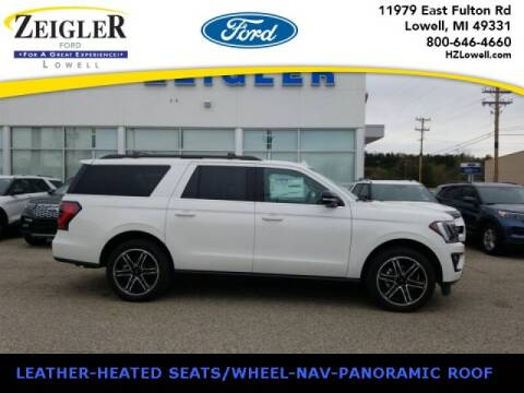 2020 Ford Expedition MAX for sale at Zeigler Ford of Plainwell- michael davis in Plainwell MI