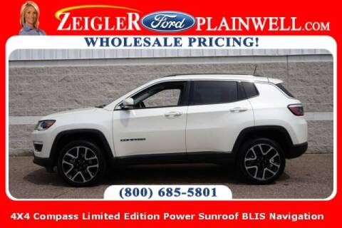 2017 Jeep Compass for sale at Zeigler Ford of Plainwell- michael davis in Plainwell MI