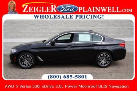 2019 BMW 5 Series for sale at Zeigler Ford of Plainwell- michael davis in Plainwell MI