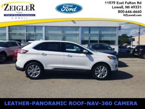 2020 Ford Edge for sale at Zeigler Ford of Plainwell- michael davis in Plainwell MI