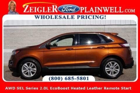 2017 Ford Edge for sale at Zeigler Ford of Plainwell- michael davis in Plainwell MI