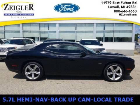 2018 Dodge Challenger for sale at Zeigler Ford of Plainwell- michael davis in Plainwell MI