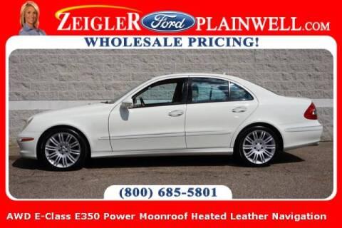 2008 Mercedes-Benz E-Class for sale at Zeigler Ford of Plainwell- michael davis in Plainwell MI