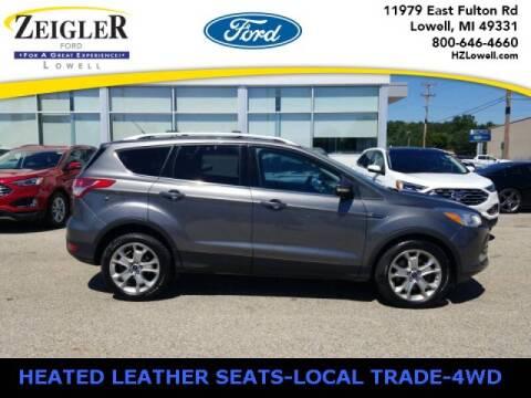 2014 Ford Escape for sale at Zeigler Ford of Plainwell- michael davis in Plainwell MI