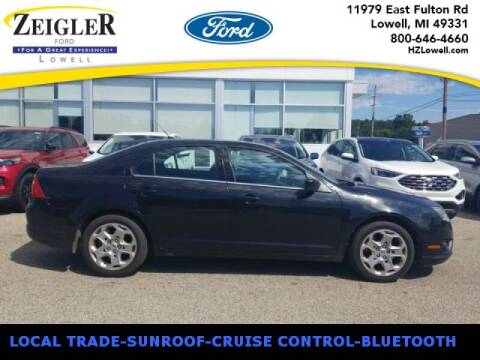 2010 Ford Fusion for sale at Zeigler Ford of Plainwell- michael davis in Plainwell MI