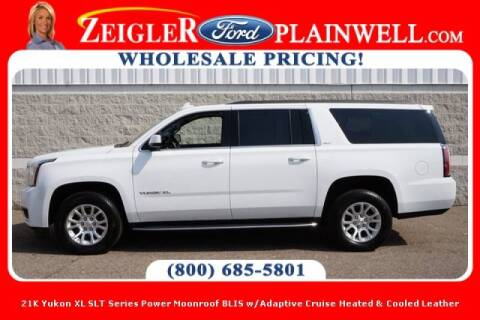 2020 GMC Yukon XL for sale at Zeigler Ford of Plainwell- michael davis in Plainwell MI