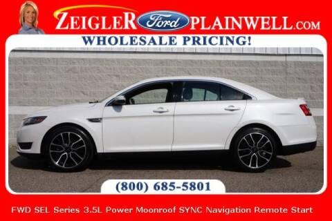 2017 Ford Taurus for sale at Zeigler Ford of Plainwell- michael davis in Plainwell MI