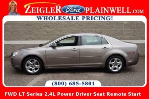 2010 Chevrolet Malibu for sale at Zeigler Ford of Plainwell- michael davis in Plainwell MI