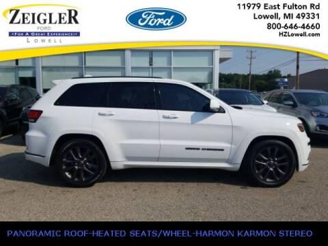 2018 Jeep Grand Cherokee for sale at Zeigler Ford of Plainwell- michael davis in Plainwell MI