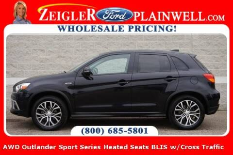 2019 Mitsubishi Outlander Sport for sale at Zeigler Ford of Plainwell- michael davis in Plainwell MI