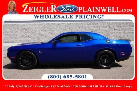 2019 Dodge Challenger for sale at Zeigler Ford of Plainwell- michael davis in Plainwell MI