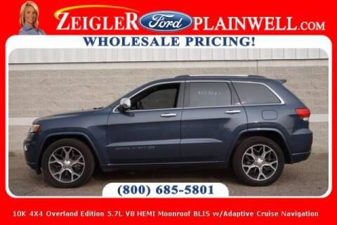 2019 Jeep Grand Cherokee for sale at Zeigler Ford of Plainwell- michael davis in Plainwell MI