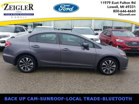 2015 Honda Civic for sale at Zeigler Ford of Plainwell- michael davis in Plainwell MI