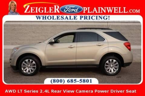2010 Chevrolet Equinox for sale at Zeigler Ford of Plainwell- michael davis in Plainwell MI
