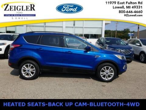 2018 Ford Escape for sale at Zeigler Ford of Plainwell- michael davis in Plainwell MI