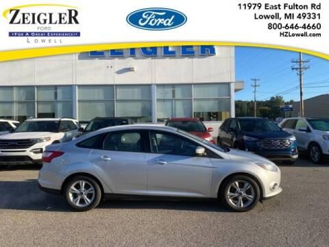 2014 Ford Focus for sale at Zeigler Ford of Plainwell- michael davis in Plainwell MI