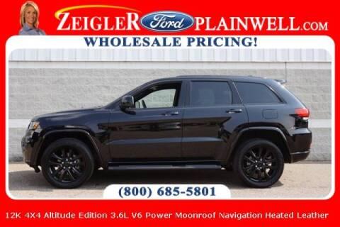 2020 Jeep Grand Cherokee for sale at Zeigler Ford of Plainwell- michael davis in Plainwell MI