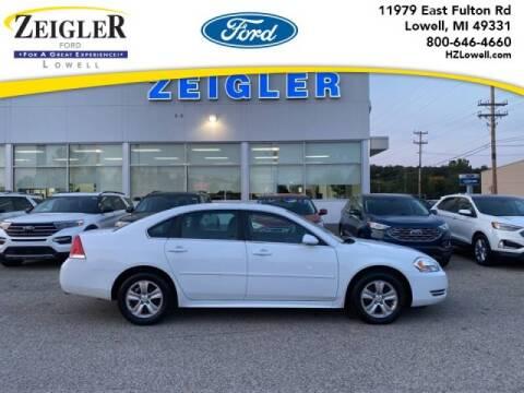 2015 Chevrolet Impala Limited for sale at Zeigler Ford of Plainwell- michael davis in Plainwell MI