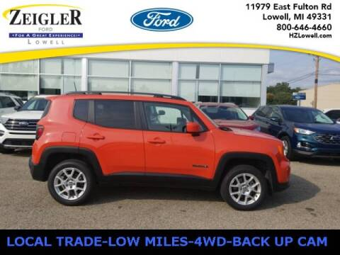 2019 Jeep Renegade for sale at Zeigler Ford of Plainwell- michael davis in Plainwell MI