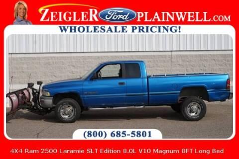 1999 Dodge Ram Pickup 2500 for sale at Zeigler Ford of Plainwell- michael davis in Plainwell MI