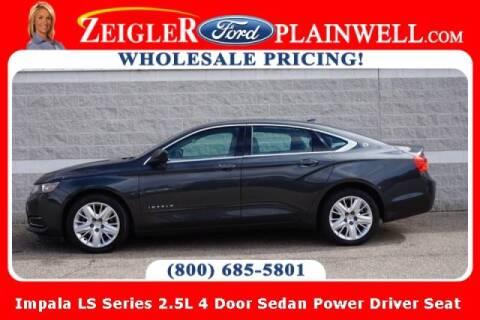 2014 Chevrolet Impala for sale at Zeigler Ford of Plainwell- michael davis in Plainwell MI