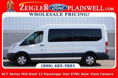 2017 Ford Transit Passenger for sale at Zeigler Ford of Plainwell- michael davis in Plainwell MI