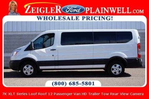2019 Ford Transit Passenger for sale at Zeigler Ford of Plainwell- michael davis in Plainwell MI