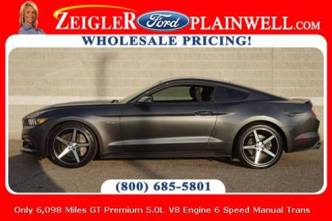 2017 Ford Mustang for sale at Zeigler Ford of Plainwell- michael davis in Plainwell MI